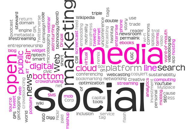 Dynamiczny komunikacja marketingowa i promocja w Internecie.
